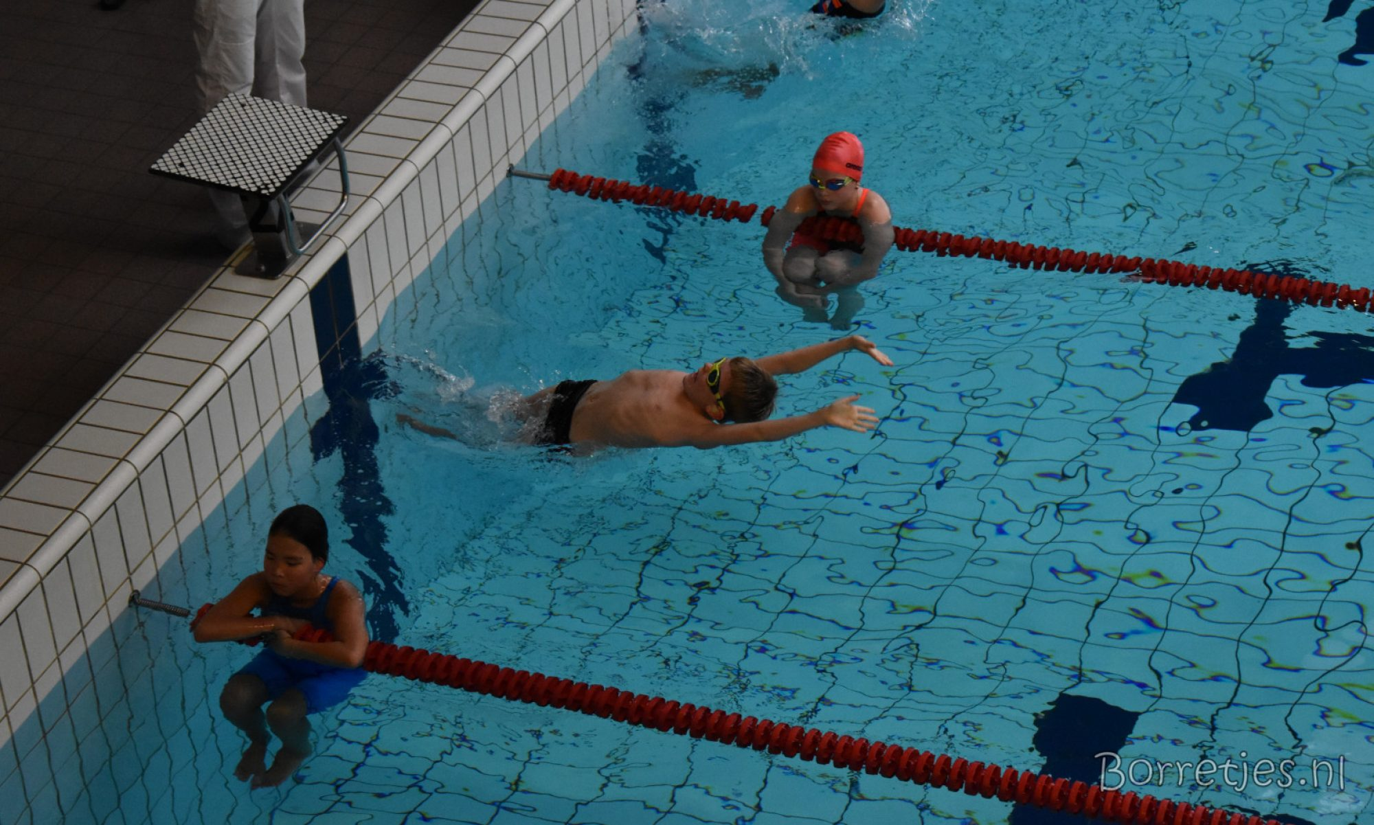 Borretjes.nl - Alles over het wedstrijdzwemmen van Kenji en Alyssia