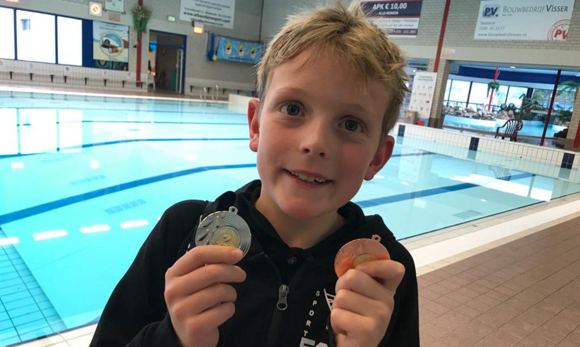Borretjes.nl - Alles over het wedstrijdzwemmen van Kenji